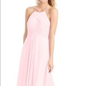 Blush pink formal dress